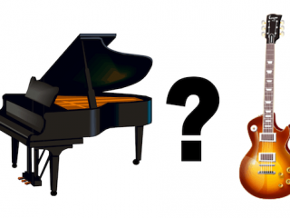 Is Piano or Guitar Easier